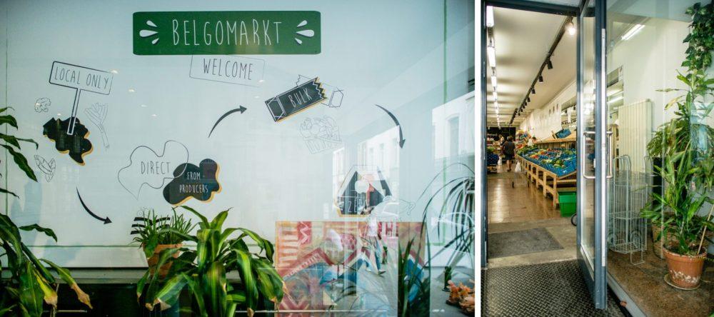 Verpakkingsvrij winkelen Belgomarkt