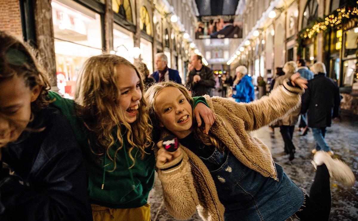 Brussel met tieners