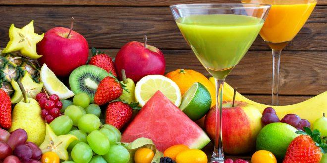 Detox by fruit juice & smoothie