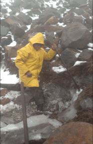 "The ""iceman"" of Chimborazo"