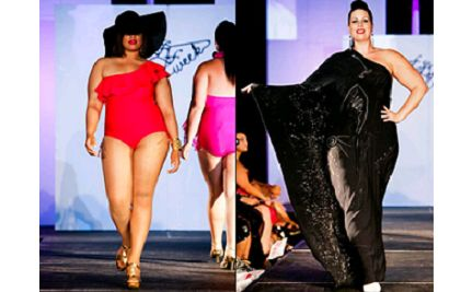 full figured fashion week hits new york city