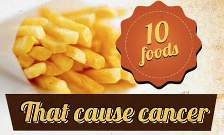 Top 10 Foods That Increase Cancer Risk