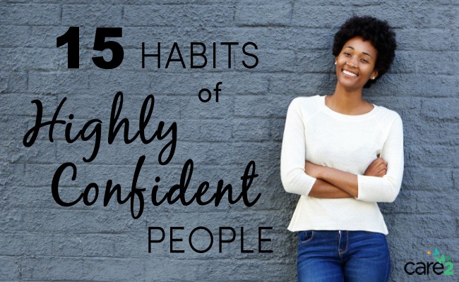 15 Habits of Highly Confident People