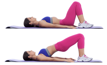 Image result for Glute Bridge to Tone Booty