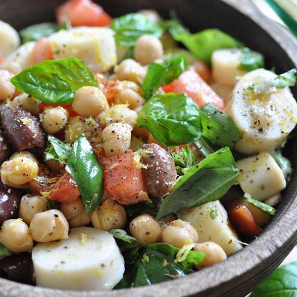 Chickpea Salad from Veganosity