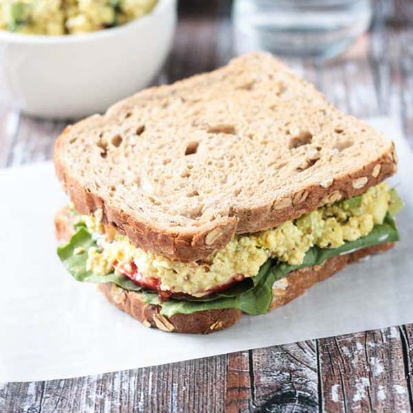 Curried Tofu Salad from Veggie Inspired
