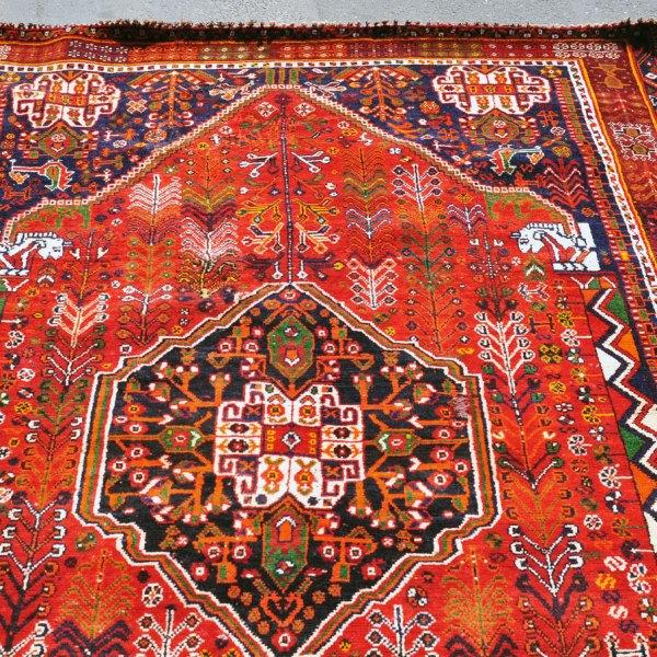 Qashqai Tribal Rug Q0002
