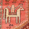 Tribal Persian Horseback Rider Rug Y0008
