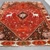 Huge Lion & Deer Qashqai Rug -- Q0055