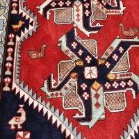 Caucasian Kazak Pinwheel Rug
