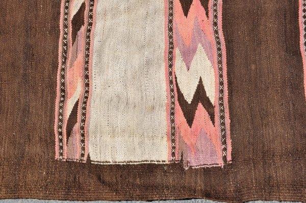 Tribal wool kelim