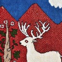 Shiraz Persian Deer Rug