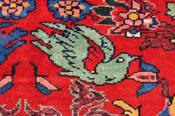 Persian Bird Motif Carpet