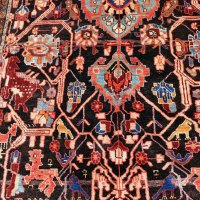Persian Village Rug with Animals
