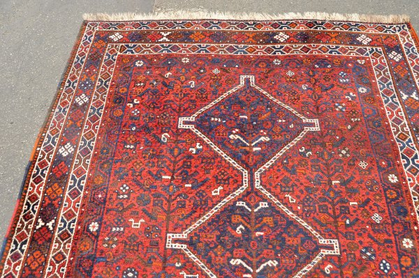 Bird and Tree of Life Khamseh Rug
