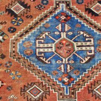 Signed Shiraz Tribal Rug