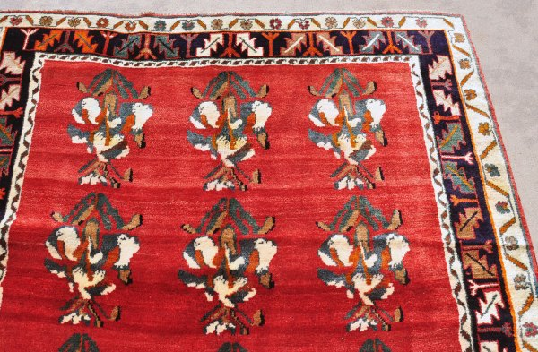 Tribal rug from Iran -- thick and heavy