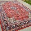 Persian Sarouk Mahal Carpet