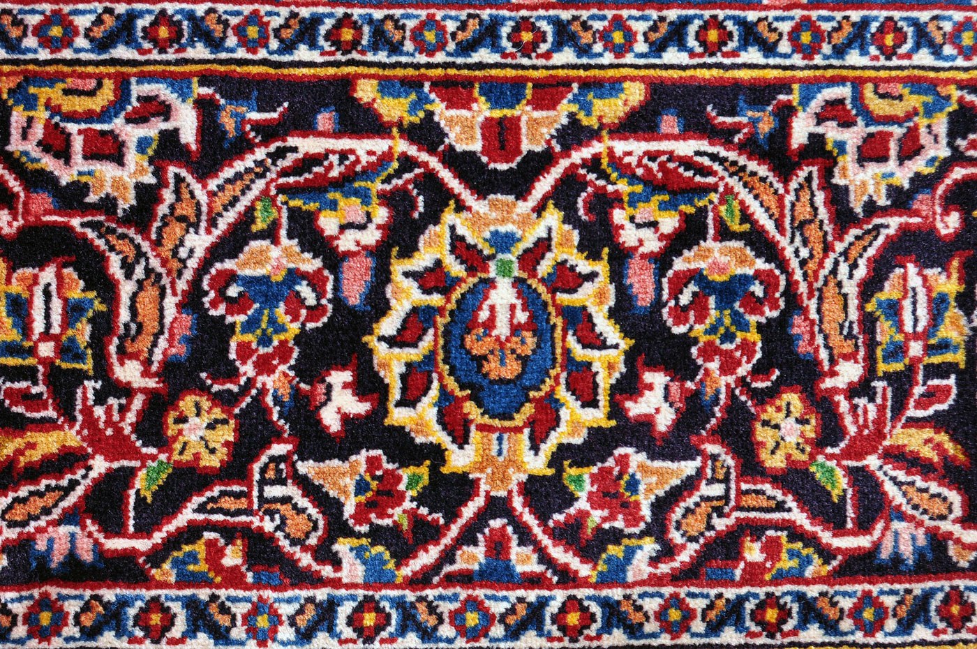 Persian floral carpet