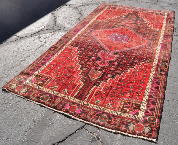 Persian Village Hamadan Rug