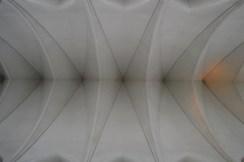 Hallgrímskirkja Church Reykjavik Inside Ceiling Arches