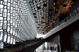 Iceland Harpa Concert Hall Inside
