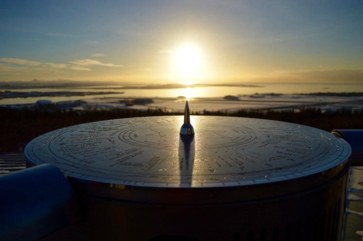 Iceland sundial
