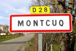 Entrée village Montcuq