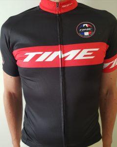Time Megève Mont Blanc  2017 - Le beau maillot offert à chaque participant !