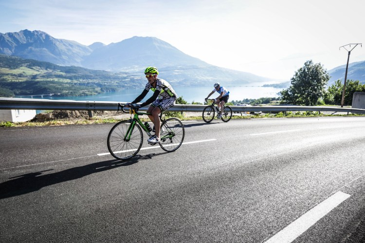 Etape du Tour 2017 - photo sportograf - Le long du lac