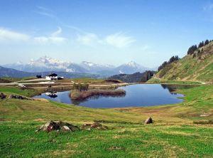 sommet lac - col de Joux Plane