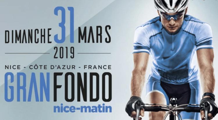 Granfondo Côte d'Azur Nice matin 2019