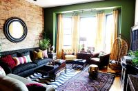 How to Decorate with Round Mirrors your Living Room