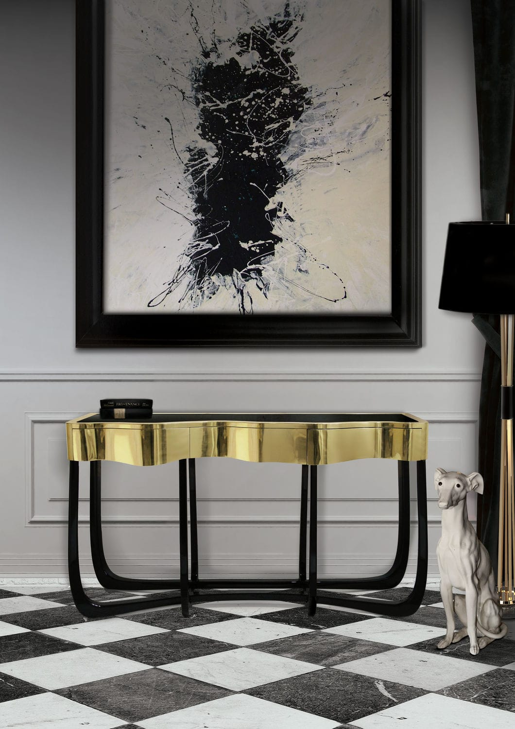 10 Amazing Modern Console Tables for Your Living Room Design