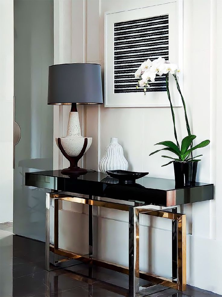 The Most Stylish Black Consoles for Living Room
