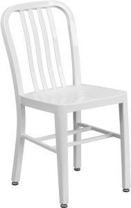 white metal navy indoor outdoor chair 49 189x300 - Chairs