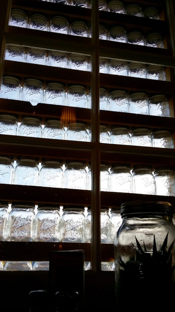 Window Decorations at The Mason Jar