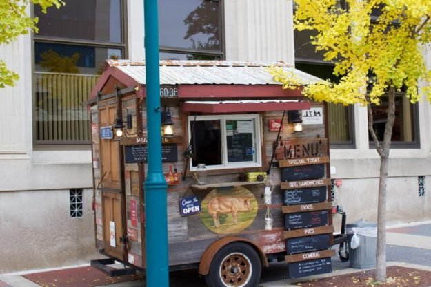 Food Carts in Downtown Madison