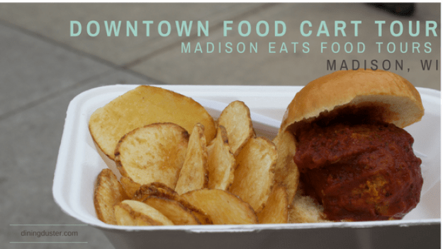 Food Cart Tour- Madison, WI by DiningDuster.com