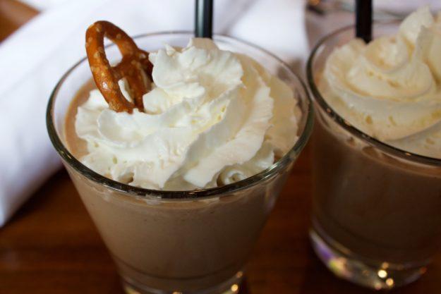 DLUX Chocolate Peanut Butter Pretzel Shake