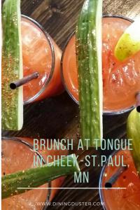 Vegan Brunch at Tongue In Cheek- St. Paul, MN