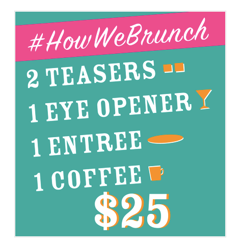 Tongue in Cheek Brunch Special