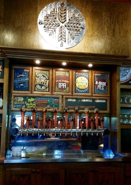 Bar at Indeed Brewing
