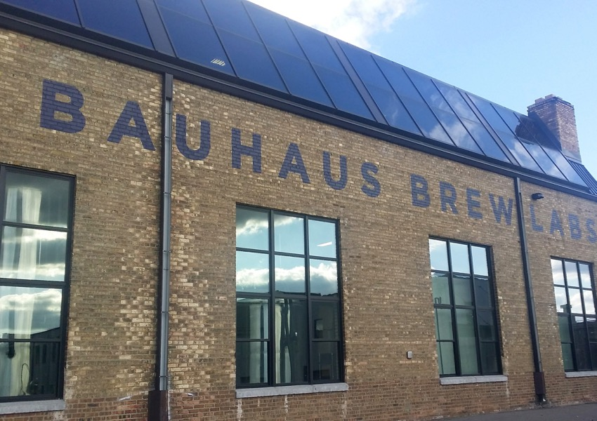 Exterior of Bauhaus Brew Labs