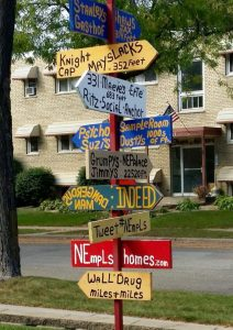 NE Mpls street sign