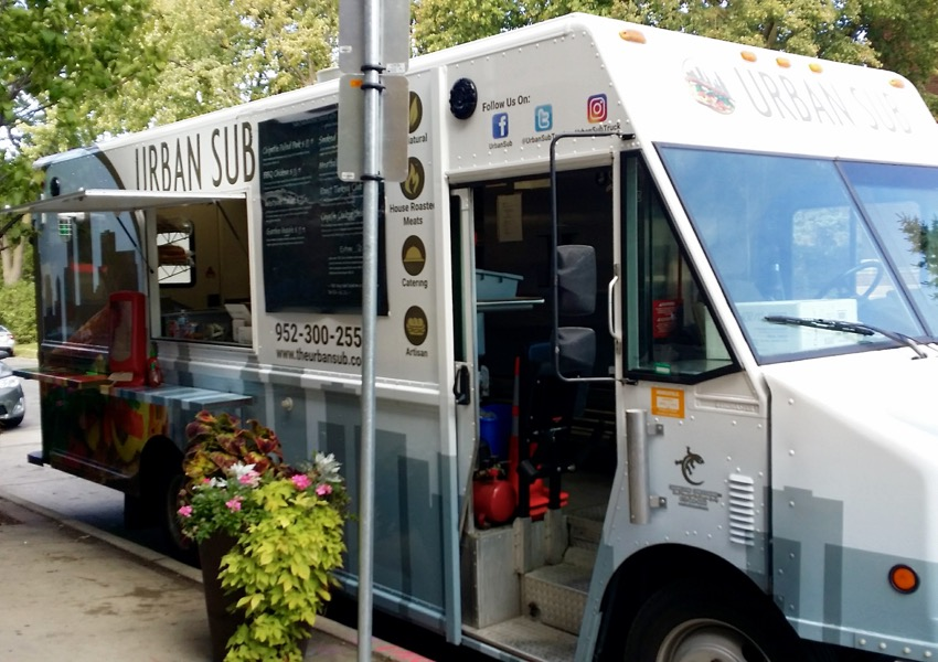 Urban Sub Food Truck- lunch!