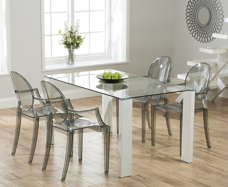 40 Glass Dining Room Tables To Rev With From Rectangle