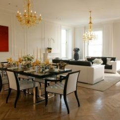Decorating Living Room Dining Combo Elle Decor Small Rooms Creative Methods To Decorate A