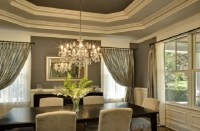Creative dining room curtain designs 11 - Creative dining ...