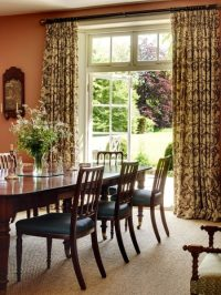 Dining Room's Curtains Role in Interior Decoration ...